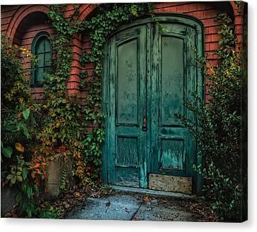 Enter October Canvas Print by Robin-Lee Vieira
