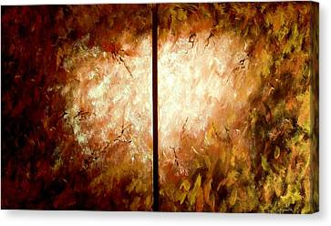 The Void Canvas Print - Enter-the Unknown by Bertha Hamilton