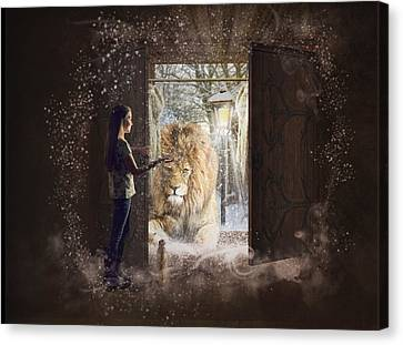 Entering Narnia Canvas Print by Imelda Bell