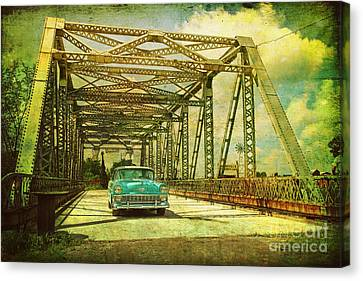 Entering The Past Canvas Print by Joel Witmeyer