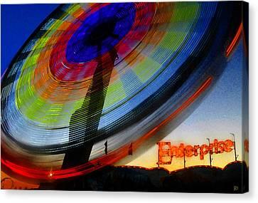 Enterprise Canvas Print by David Lee Thompson