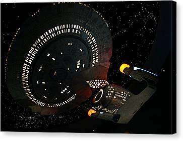 Enterprise Canvas Print by Kristin Elmquist