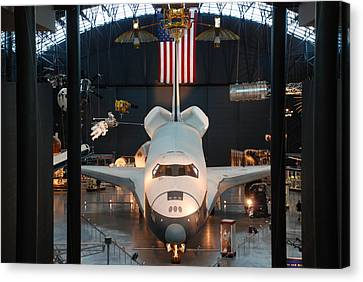 Enterprise Space Shuttle Canvas Print by Renee Holder