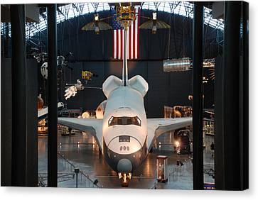 Enterprise Space Shuttle Canvas Print by Renee Holder