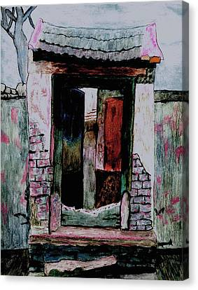 Entrance Gate Canvas Print by Merton Allen