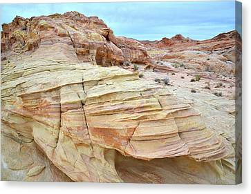 Canvas Print featuring the photograph Entrance To Wash 3 In Valley Of Fire by Ray Mathis