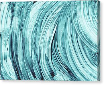 Loft Canvas Print - Entranced 2- Abstract Art By Linda Woods by Linda Woods