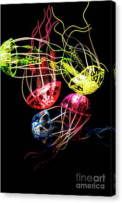 Swim Canvas Print - Entwined In Interconnectivity by Jorgo Photography - Wall Art Gallery
