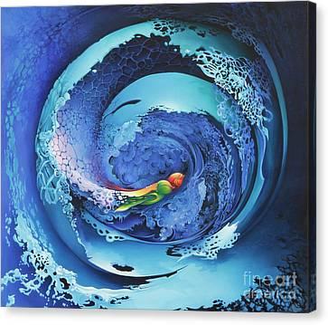Entwinned Canvas Print by Symona Colina