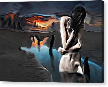 Environment Zero Canvas Print by Naikos N
