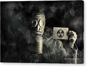 Environmental Pollution Concept Canvas Print