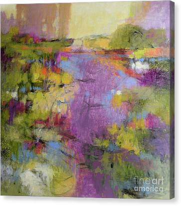 Envisioning Violet 1 Canvas Print
