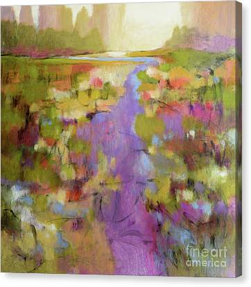 Envisioning Violet 2 Canvas Print