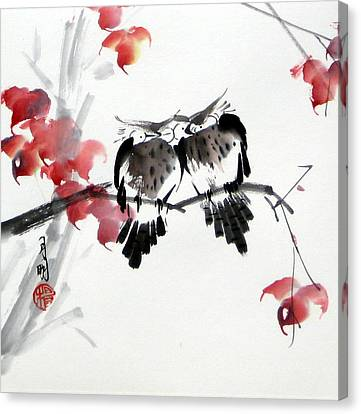 Envoy Of Fall Canvas Print by Ming Yeung