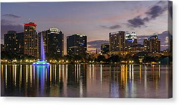 Eola Evening Canvas Print