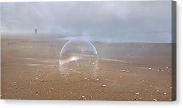Ephemera Bubble  Canvas Print by Betsy Knapp