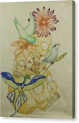 Ephemeral Canvas Print by Elliot Ehring