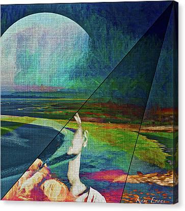 Ephemere Canvas Print