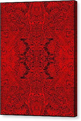 Epic Red Canvas Print
