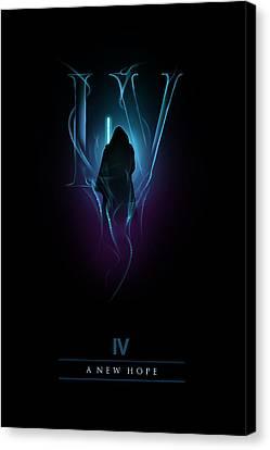 Episode Iv Canvas Print