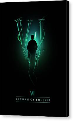 Sith Canvas Print - Episode Vi by Alyn Spiller