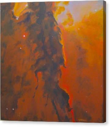 Epsilon Eridani A Stellar Spire In Eagle Nebula Canvas Print by Jim Ellis