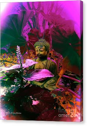 Equal Measure Buddha Canvas Print