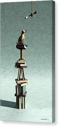 Equilibrium Vi Canvas Print