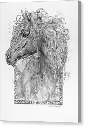 Equus Caballus - Horse - The Divine Gift Canvas Print