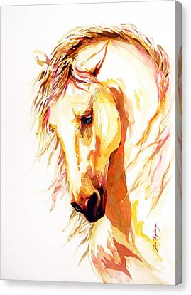 Equus Canvas Print by J- J- Espinoza