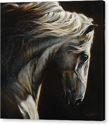 Monotone Canvas Print - Equus Series I-iii by Heather Theurer