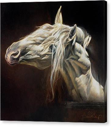 Equus Series I-iv Canvas Print by Heather Theurer