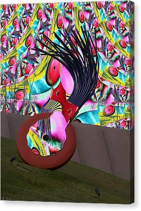 Eraser Canvas Print by Tim Allen