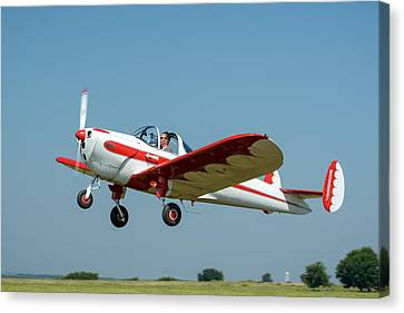 Ercoupe Canvas Print by James Barber