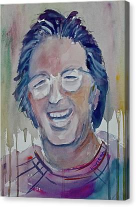 Eric Clapton Canvas Print by Joseph Giuffrida