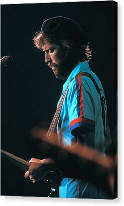 Eric Clapton Canvas Print by Marc Bittan