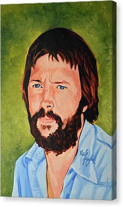 Eric Clapton Canvas Print by Neil Feigeles