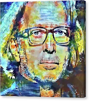 Eric Clapton Portrait Canvas Print