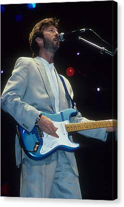 Eric Clapton Canvas Print by Rich Fuscia
