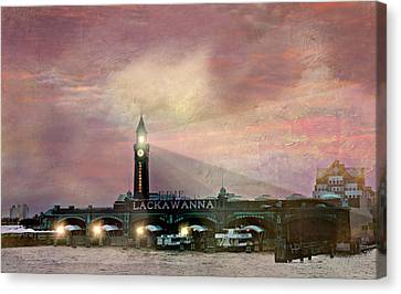 Erie Lackawanna Transit Canvas Print by Diana Angstadt