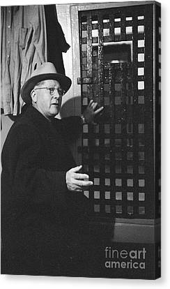 Bank Robber Canvas Print - Erle Stanley Gardner by The Harrington Collection