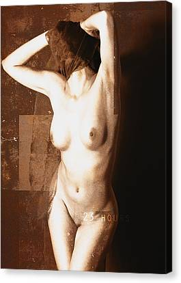 Erotic Art  23 Hours Canvas Print by Falko Follert