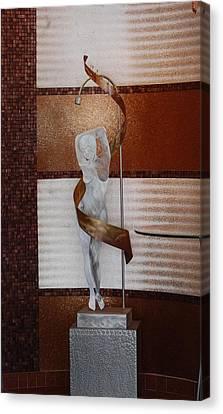 Erotic Museum Piece Canvas Print by Rob Hans