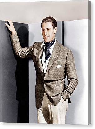 Errol Flynn, Ca. 1930s Canvas Print