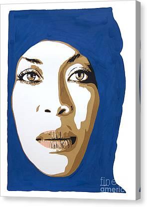 Erykah Badu. Mama's Gun. Canvas Print