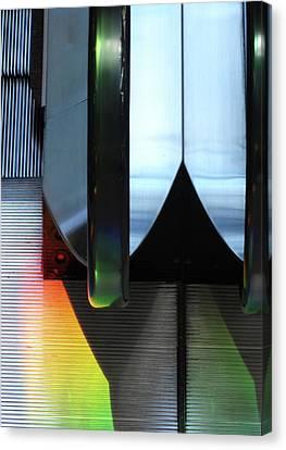 Canvas Print - Escalator Rainbow by Ross Odom