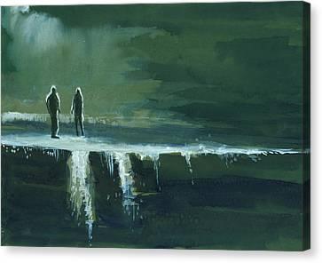 Escape Canvas Print by Anil Nene