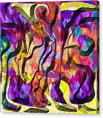 Escape Canvas Print by Carola Ann-Margret Forsberg