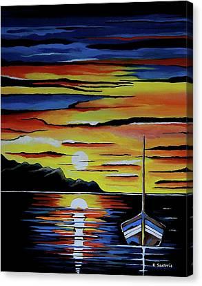 Escape To The Sea Canvas Print