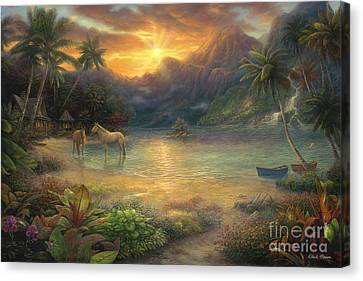 Canvas Print - Escape To Tranquility by Chuck Pinson